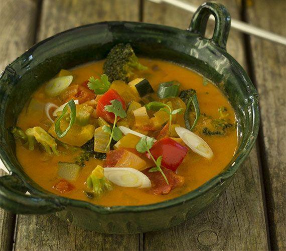 Een moqueca met groenten. Een Braziliaanse vegetarische stoofpot. Ontdek de Braziliaanse keuken tijdens een kookworkshop met Dishcover.