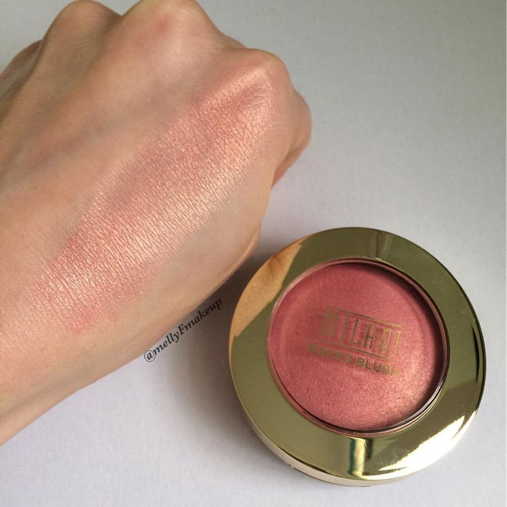 Milani Baked Blush in Bella Bellini. Follow my instagram @mellyfmakeup for more!
