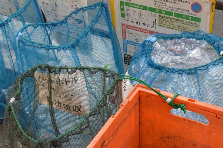 Rubbish bags  -Fastening idea