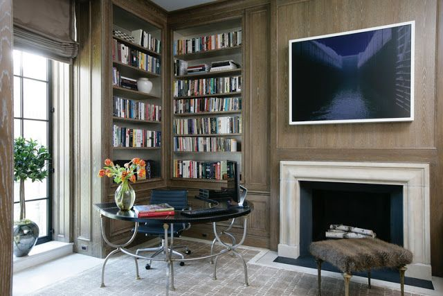 home library for small spaces | : Small Home Library Design Ideas - When it comes to get small home ...