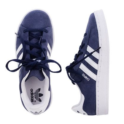 Boys' Adidas® navy campus sneakers - sneakers - Boy's shoes - J.Crew