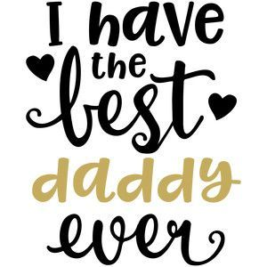 Silhouette Design Store: baby t-shirt: best daddy ever