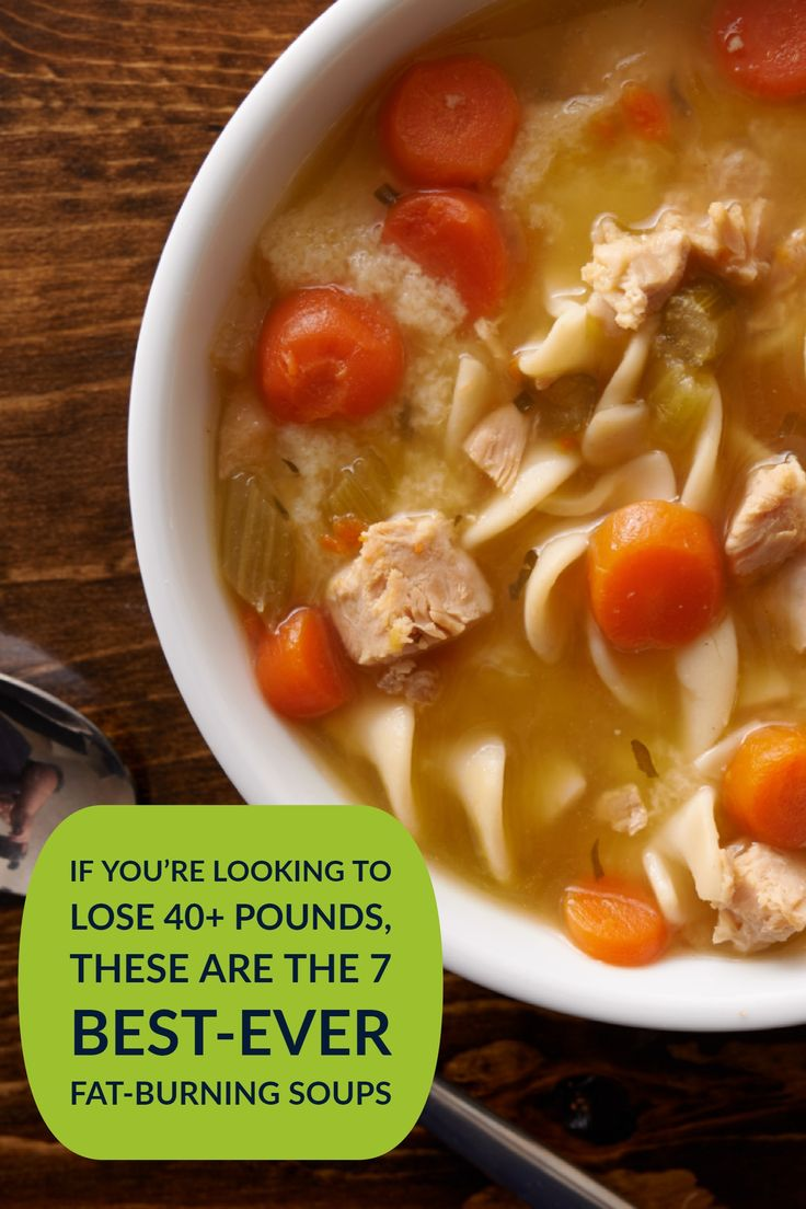 Pour yourself a bowl of one of the best weight loss soup recipes. These liquid meals with warm you up and slim you down. #soups #souprecipes #weightloss #everydayhealth