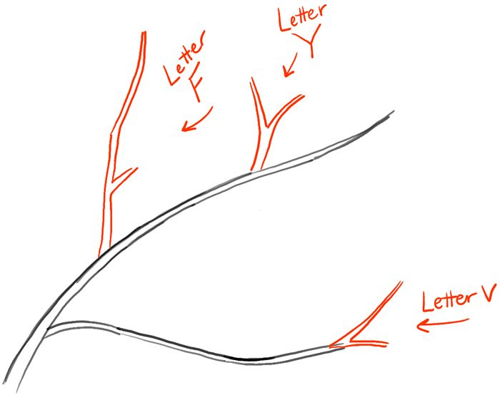 how to draw flow lines