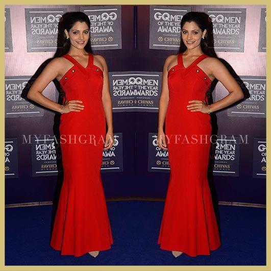 Saiyami Kher, GQ Men of the Year Awards 2017, MyFashgram