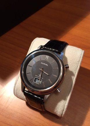 #Auriol #Uhr #Funk #Herren #schwarz #Mode #Schmuck #Funkuhr #Leder #Lederarmband #Kleiderkreisel http://www.kleiderkreisel.de/herrenmode/armbanduhren/141134530-herren-funkuhr-mit-lederarmband-von-auriol