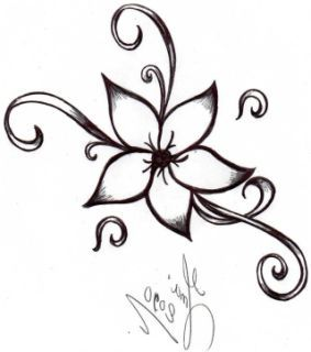 Cute Easy Drawing Ideas Flowers