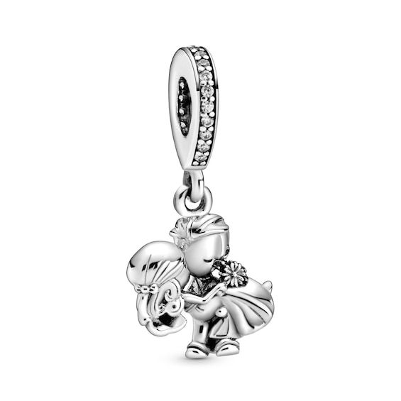 Pandora Married Couple Charm Sterling Silver Jared In 2020 Pandora Wedding Charms Couples Charms Pandora Charms