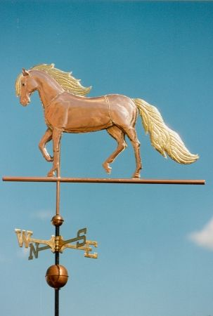 Horse Weather Vane Paso Fino by West Coast Weathervanes.