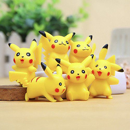 6Pcs/Lot Pokemon Center Pikachu Monster Collections Action Figures Kids Doll Toy - Pokemon Videos, Pokemon Videos Games   >> Visit Pokemon store: http://www.iwantpokemon.com/product/sexystylish-harajuku-girl-autumn-coat-cartoon-pokemon-cute-pikachu-printed-hooded-pokemon-hoodies-for-women/ << >> Popular Toys - Pokemon 3D Puzzle…