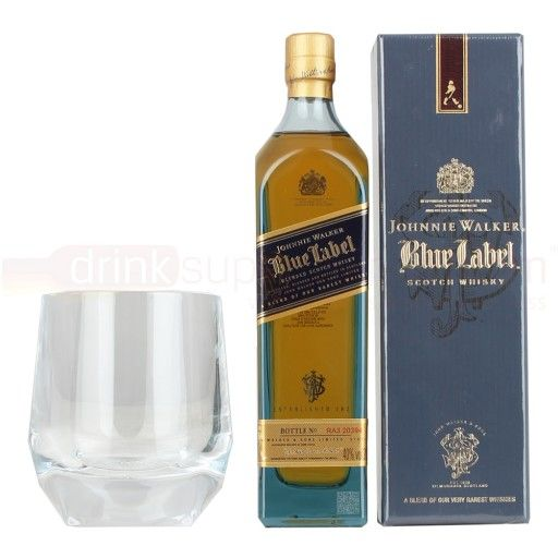 Collect your special bottle of Johnnie Walker Blue Label 20cl from DrinkSupermarket.com With its big bold flavours JW Blue Label is the Crème de la Crème of the Johnnie Walker range. Layers of big flavours, deep richness and smoke are accompanied by layers of honey and fruit with an incredibly smooth finish. The master of blends.