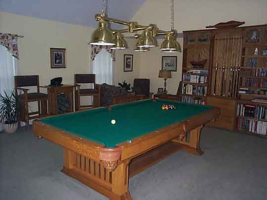DIY Pool Table plans