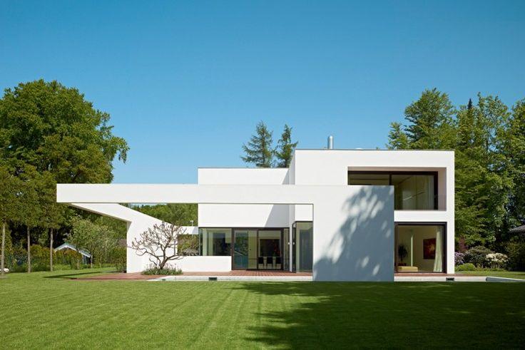 Wie eine umgreifende Geste zeigt sich hier die Fassade | Titus Bernhard Architekten ©Jens Weber, Orla Conolly, München