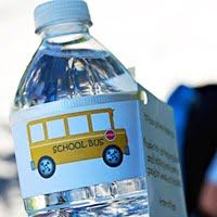 School Bus Printable for bus driver gift