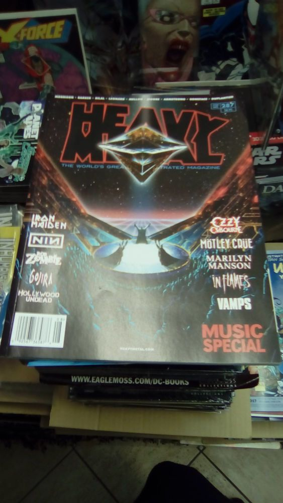 HEAVY METAL #287,Cover A,Hard Rock/Heavy Metal bands,special issue,Rare,NM!