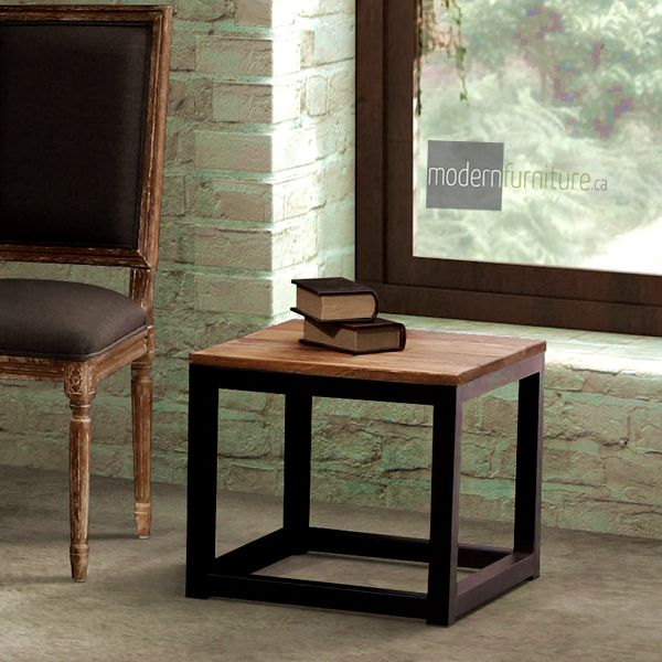 A simple and rustic design the Civic Centre Side Table is ready for anything.