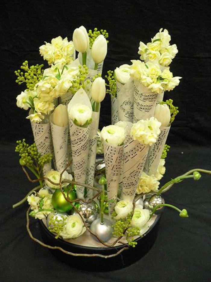 bloemen bladmuziek