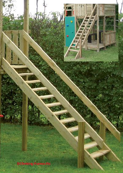 Image Result For Treehouse Stairs Wooden Staircases