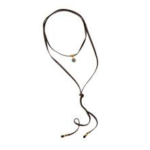 Moxie Necklace - midnight weave