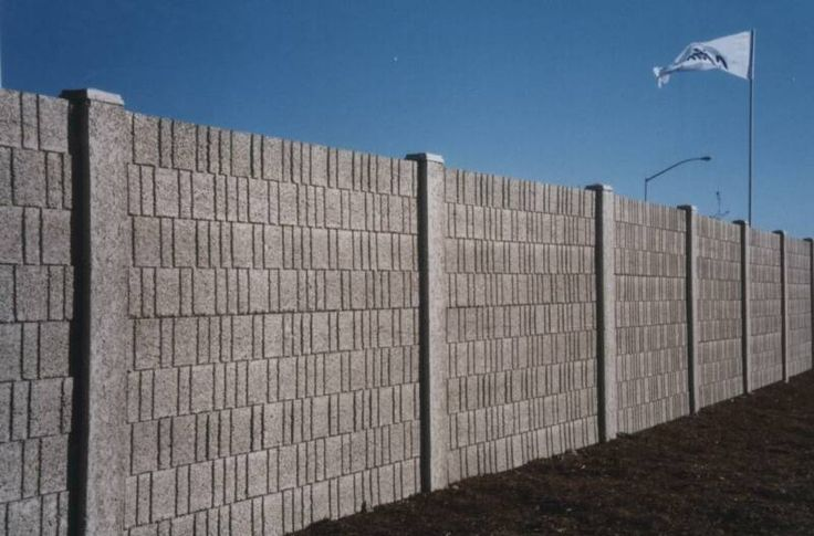 Concrete block fence design precast concrete fences - Decorative precast concrete wall panels ...