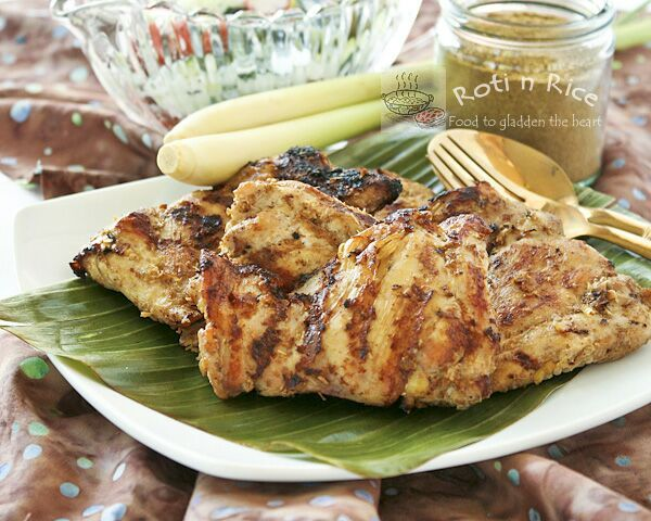 Grilled Masala and Lemongrass Chicken | Recipe
