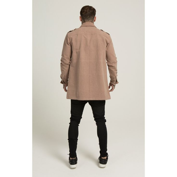 Pánsky kabát Illusive London Beige - NahodSa.sk Street Fashion Store