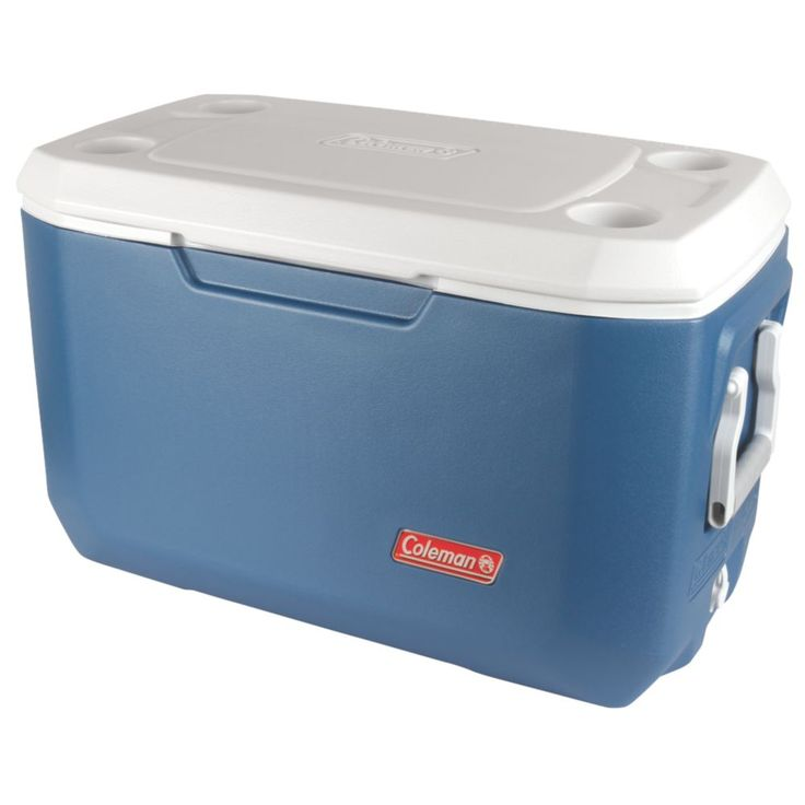 Keep your food and drinks cold for an extended time, and make the fun last longer, when you bring a Coleman® 70 Quart Xtreme® 5 Cooler. Xtreme® technology uses an insulated lid and extra insulation in the walls to keep your items cold for up to 5 days. Large enough to hold 100 cans, you'll have plenty of space for refreshments for the entire party. Whether you're headed on a long weekend camping trip, a roadtrip, or out to a BBQ, the comfort-grip no-crush handles make getting to your ...