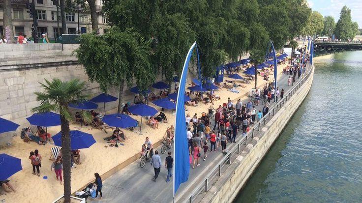 Znalezione obrazy dla zapytania paris plages 2017