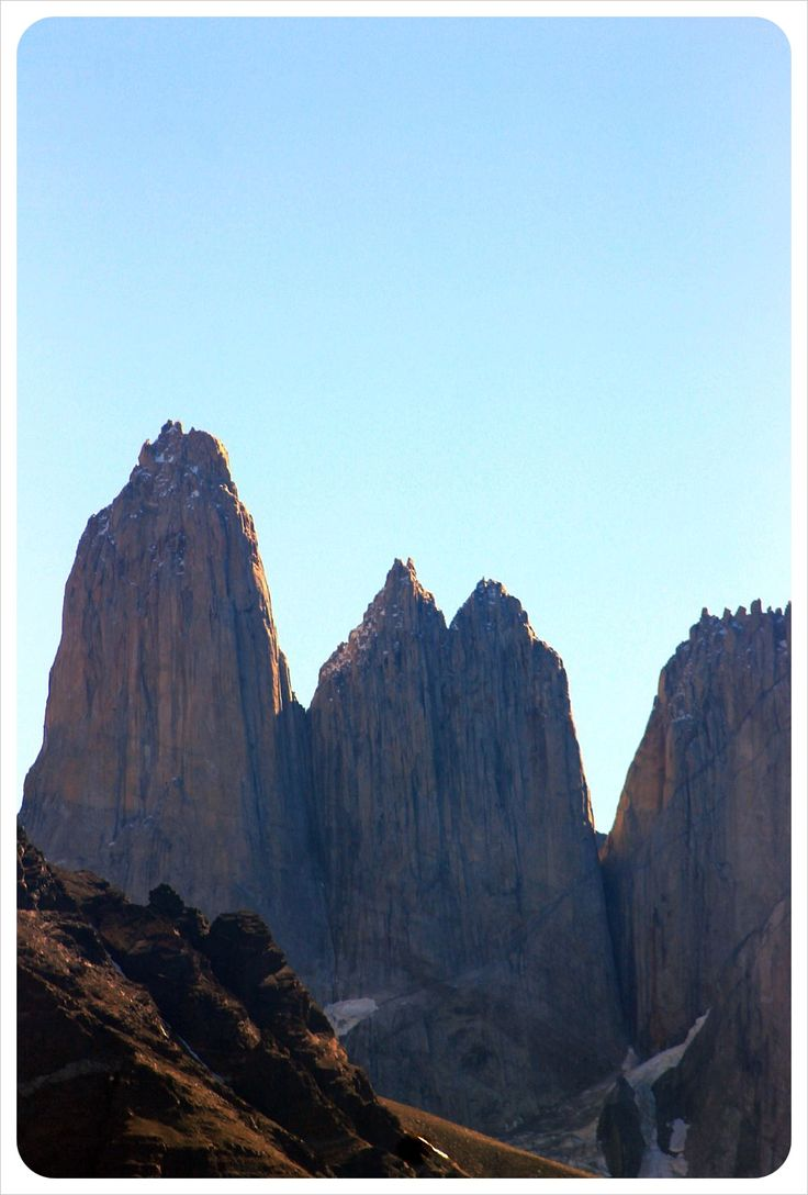 torres del paine national park torres - one day tour