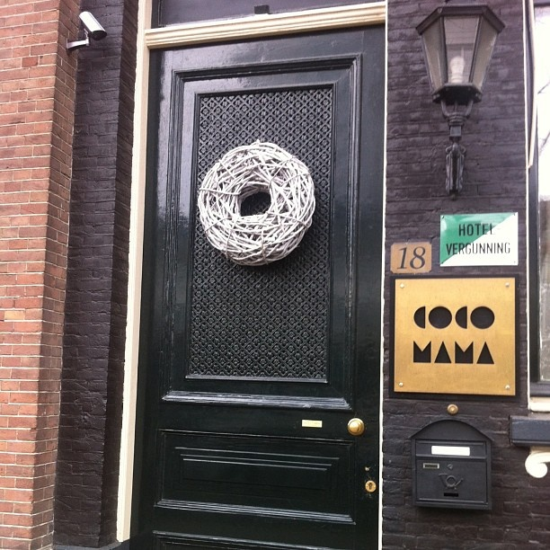 Front door | We are waiting inside to welcome you here in Amsterdam