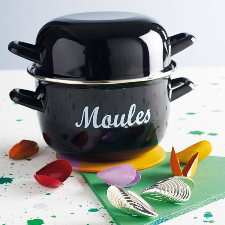 enamel mussels pot by whisk hampers | notonthehighstreet.com