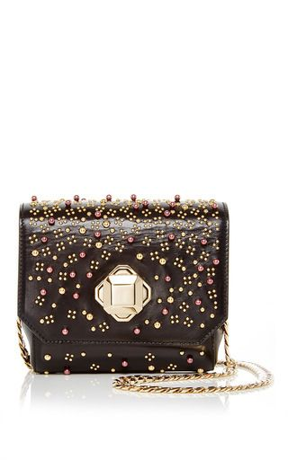 Embroidered Mini Crossover Bag by ELIE SAAB Prefall 2016