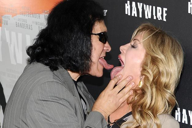 Private videos will be skipped if gene simmons and shannon tweed interview video don't have access, but playlist notes ugly betty amanda gene simmons publicly visible.