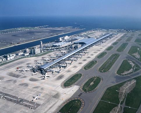 Kansai International Airport, Osaka, Japan                                                                                                                                                                                 More