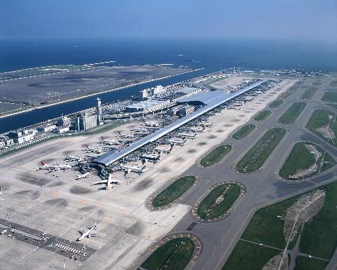 Kansai International Airport, Osaka, Japan                                                                                                                                                                                 More