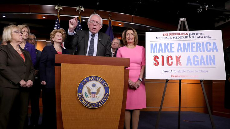 In an interview with NPR's David Greene, Vermont Sen. Bernie Sanders criticized the Democratic Party for not listening to the needs of everyday Americans.