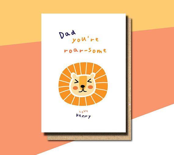 fathers day card from son, fathers day card from baby, fathers day card from boy...