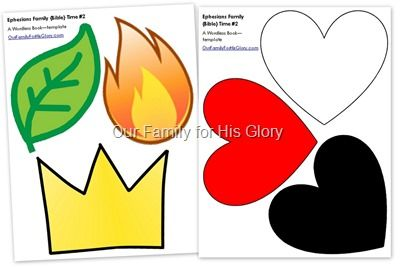wordless book template, a wonderful way to teach children the gospel. Great VBS or church craft activity.