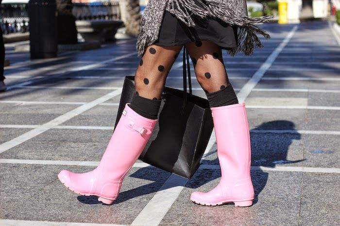 Bota Hunter Rosa
