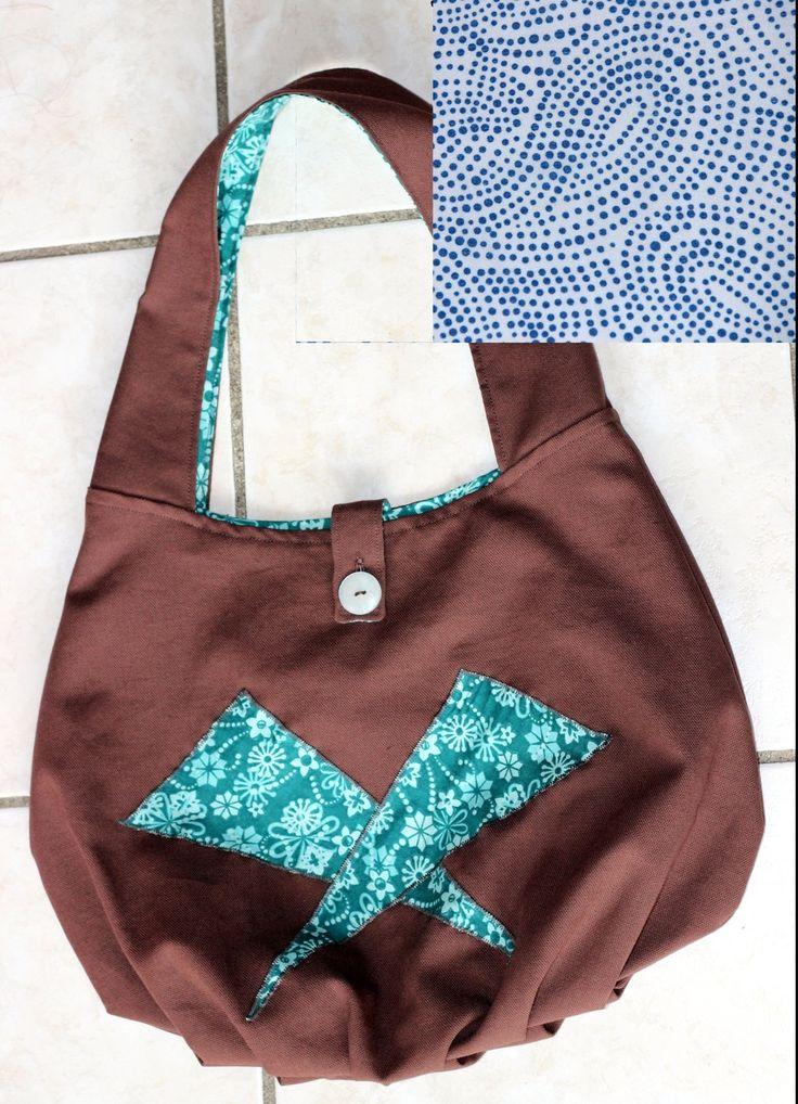 Sac à Main Lune avec appliqué- Kit de Couture Complet DIY : Kits, tutoriels Couture par les-kits-de-liliflower