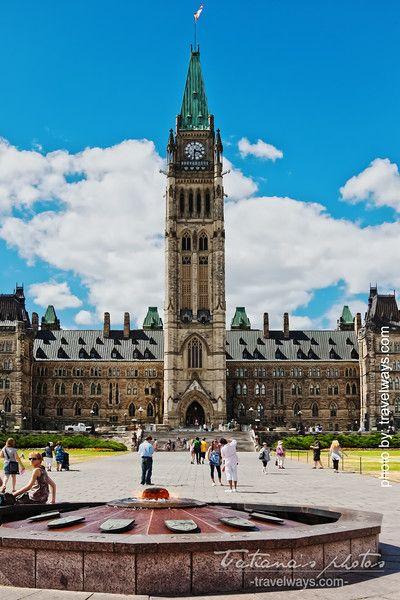 Parliament building, Ottawa