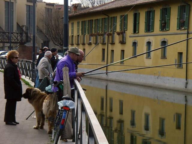 Naviglio della Martesana, Milano.