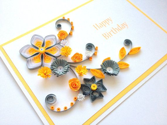 17 Best images about handmade birthday cards – Paper Birthday Card