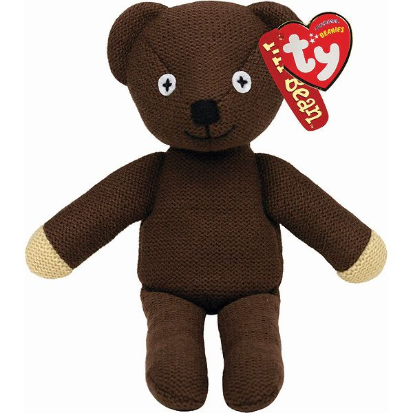 This Mr Bean Teddy Beanie is a brown knitted teddy bear designed after Teddy - Mr Bean's Teddy Bear in the popular television series. This official Mr Bean Teddy Beanie is make by TY. Order online.