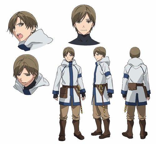 Grimgar of Fantasy and Ash Anime - Nobunaga Shimazaki (Free! - Iwatobi Swim Club's Haruka Nanase) as Manato