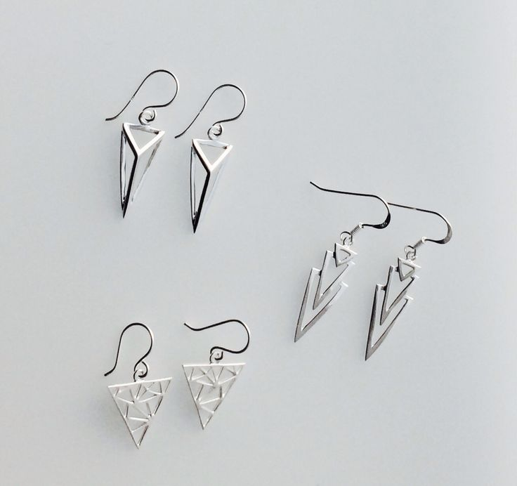 New sterling silver earrings!