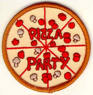 pizza party daisy scouts pinterest patches
