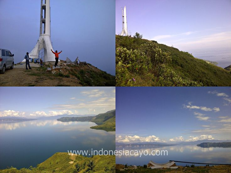 Lake Toba (Indonesian: Danau Toba) is a large natural lake occupying the caldera of a supervolcano.