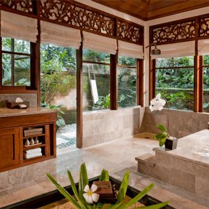 (808-635-4900) Duffield balinese architecture style residence designed by Tropical Architecture Group, Inc.