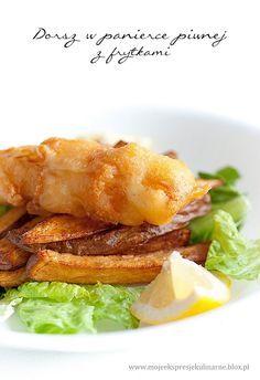 Dorsz w cieście piwnym z frytkami (Fish and chips)